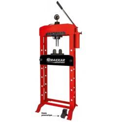 Presse Hydraulique 30T à 2 vitesses bâti soudé manuelle et pneumatique