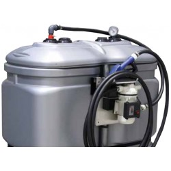 Cuve stockage ADBLUE PEHD 1000 litres + kit station + pistolet