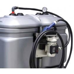 Cuve de stockage PEHD pour Adblue 750 litres avec pompe et pistolet