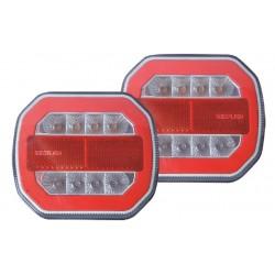 Kit de signalisation arrière LED 12V magnétique