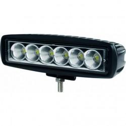 Phare de travail rectangle LED 10/32V 18W