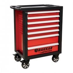 Servante d'atelier 7 tiroirs - 205 outils