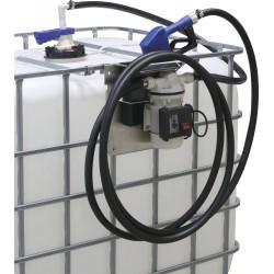 Pompe Adblue / kit pompe pour cuve de stockage IBC avec pistolet automatique