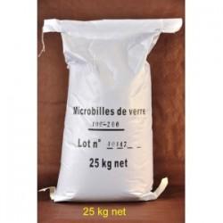 30 kg Microbilles de Verre pour cabine de sablage et sableuse mobile