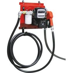Pompe gasoil 230V 60L/min avec filtre, pistolet, compteur - Drakkar equipement - 08599
