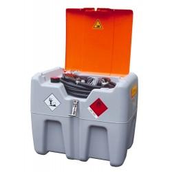 Cuve de ravitaillement gasoil 210L 12V 40L/min avec capot - 08034