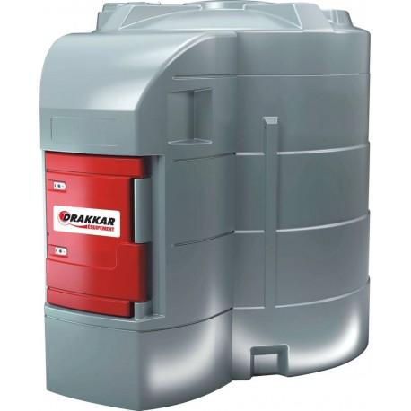 Cuve de stockage gasoil PEHD 9000L - Drakkar équipement
