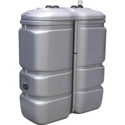 Cuve stockage gasoil fuel GNR PEHD 1000 litres double paroi