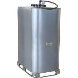 Cuve de stockage galvanisée DP 1000 litres pré-équipée