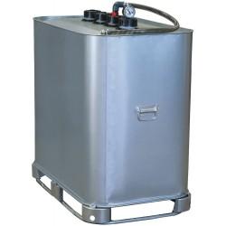 Cuve de stockage galvanisée DP 700 litres pré-équipée