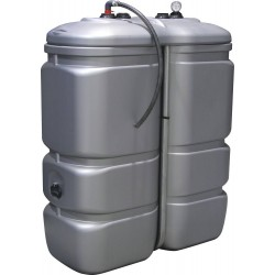 Cuve de stockage PEHD gasoil 1000 litres pré-équipée