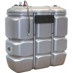 Cuve stockage PEHD DP 1500 litres pré-équipée