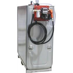 Cuve de stockage gasoil galvanisée double paroi 1500 litres