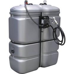 Cuve de stockage PEHD gasoil 1000 litres avec kit 230V