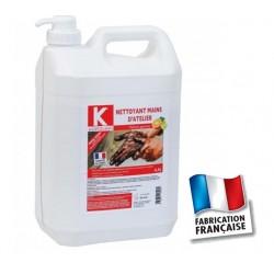 Nettoyant mains d'atelier Karzhan 4.5L avec pompe