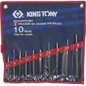 Trousse de Chasse-goupilles, Pointeaux et chasse-clous - 10 pièces - King Tony - 1010PR