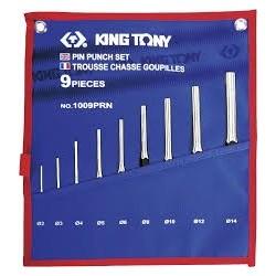 Jeu de chasse goupilles 9 pièces - King Tony - 1009PRN