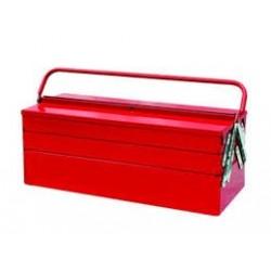 Caisse à outils métallique - 5 compartiments