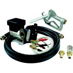 Pompe Gasoil 12/24V 35-70L/min Gros débit Auto-amorçante