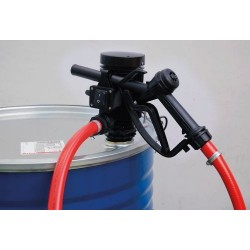 Pompe gasoil 230V 35L/min pour fût