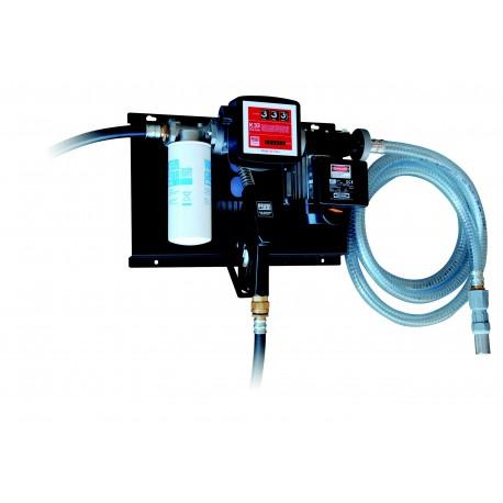 Station gasoil 230V 70L/min avec filtre, pistolet et compteur - PIUSI