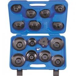 """Coffret de clés """"coiffe"""" pour filtre à huile - 16 pièces"""