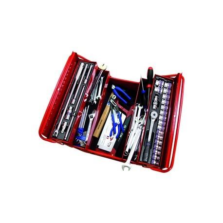 Caisse à outils complète - 77 pièces