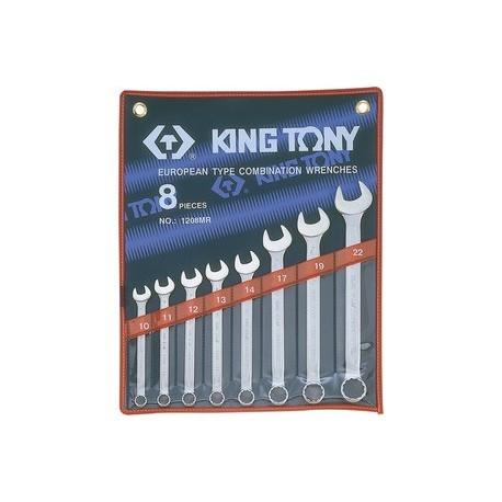 Trousse de clés mixtes métriques - 7 pièces