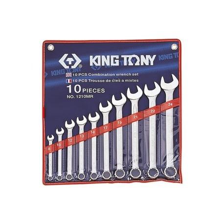 Trousse de clés mixtes métriques - 8 pièces