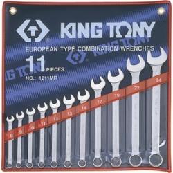 Trousse de clés mixtes métriques - 10 pièces