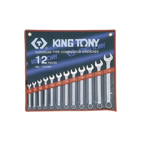 Trousse de clés mixtes métriques - 11 pièces