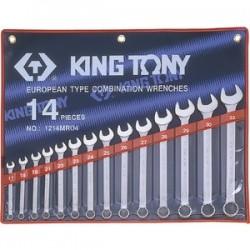 Trousse de clés mixtes métriques - 14 pièces