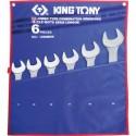 Trousse de clés mixtes métriques - 6 pièces