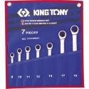 Trousse de clés mixtes à cliquet métriques - 7 pièces