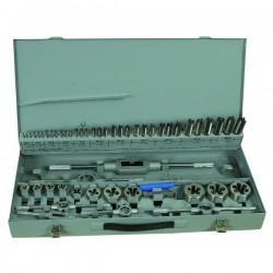 Coffret de tarauds et filière HSS - 56 pièces Drakkar equipement