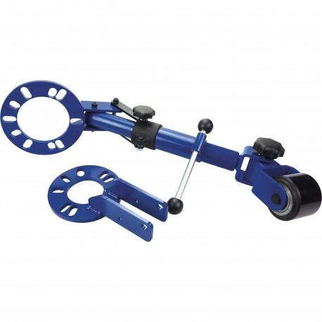 Outil de remise en forme passage de roue