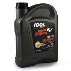 Huile Moteur Igol Race Factory Rallye 5W50 - 2 litres