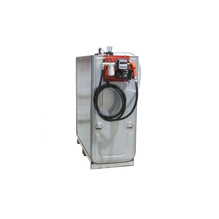 Cuve de stockage gasoil DP 1500L avec pompe