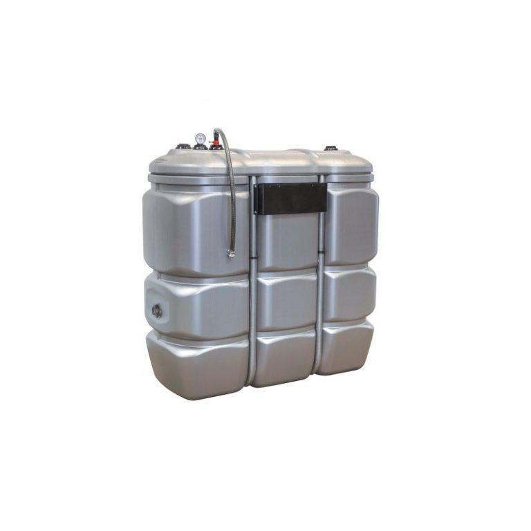 Cuve de stockage PEHD dp 1500L pré-équipée